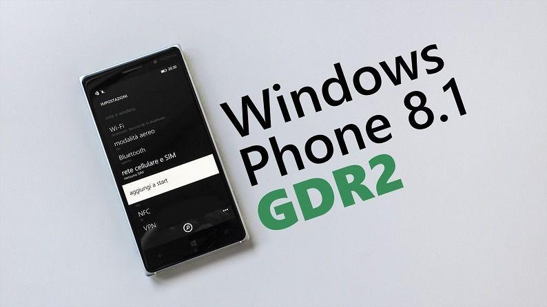 Обновление Windows Phone 8.1 Update 2 получат не все смартфоны