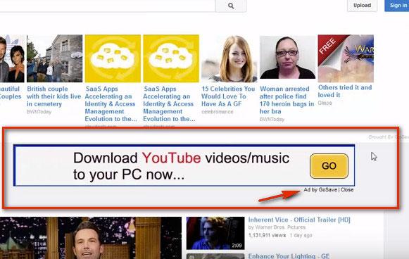 рекламные блоки adware