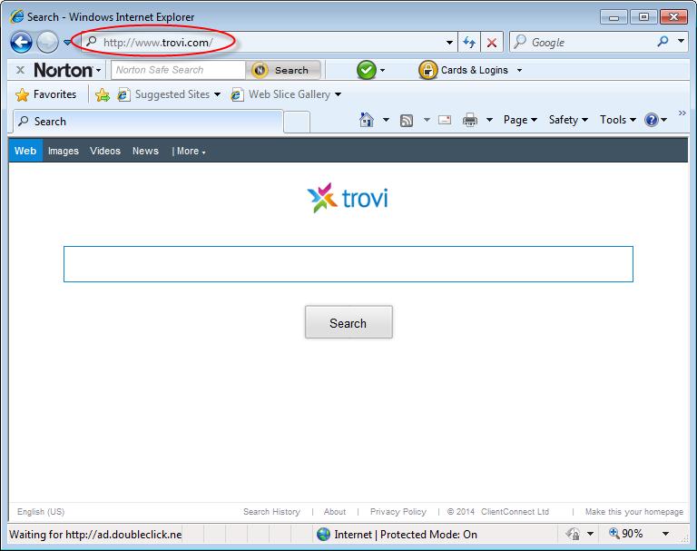 Как удалить Trovi.com и избавиться от приложения Search Protect