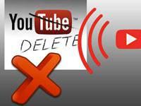 удаление канала в YouTube