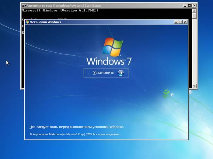 Установка Виндовс 7 с диска для чайников