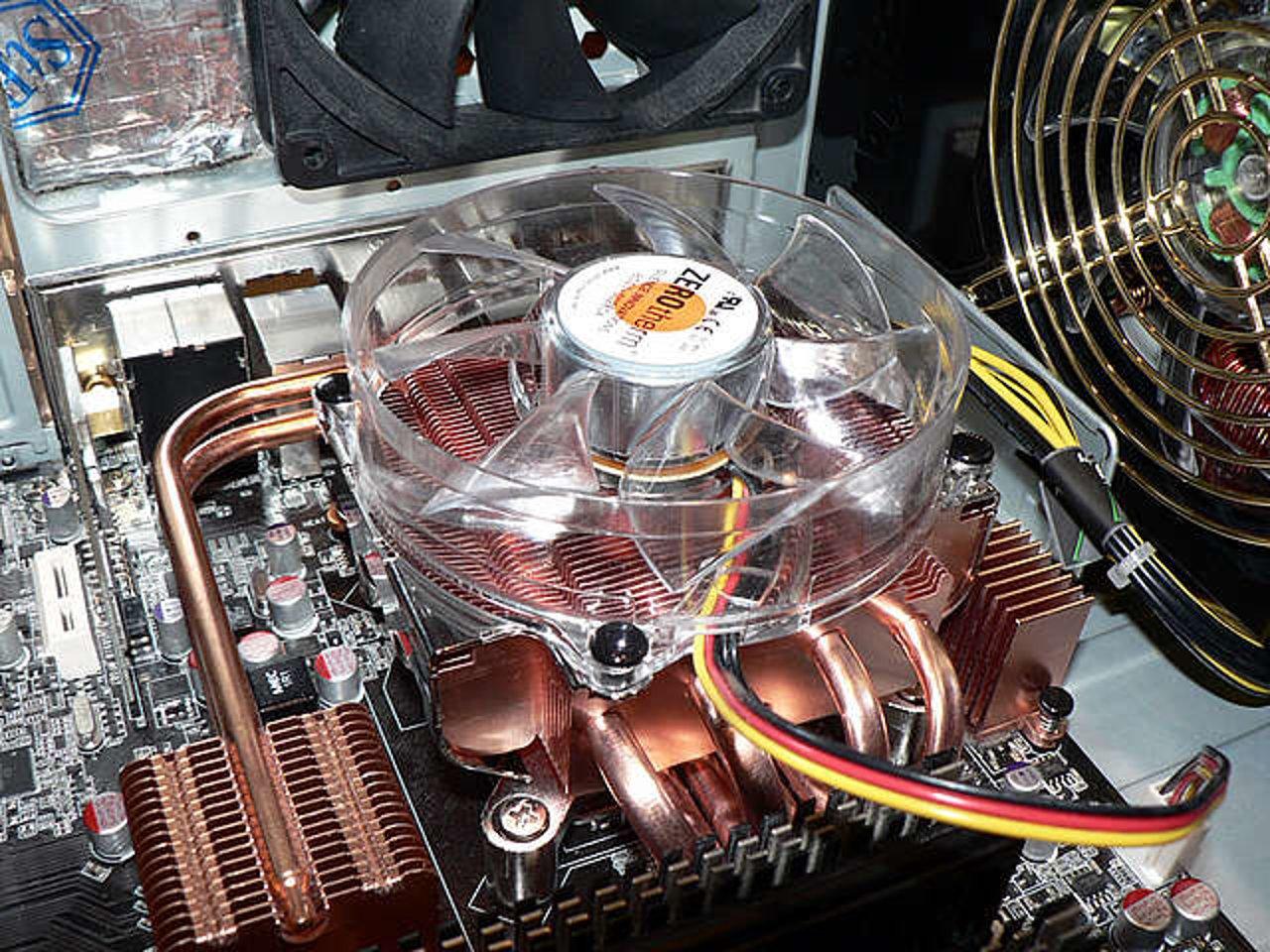Система охлаждения компьютера - схема вентиляции, в какую сторону должен крутиться кулер