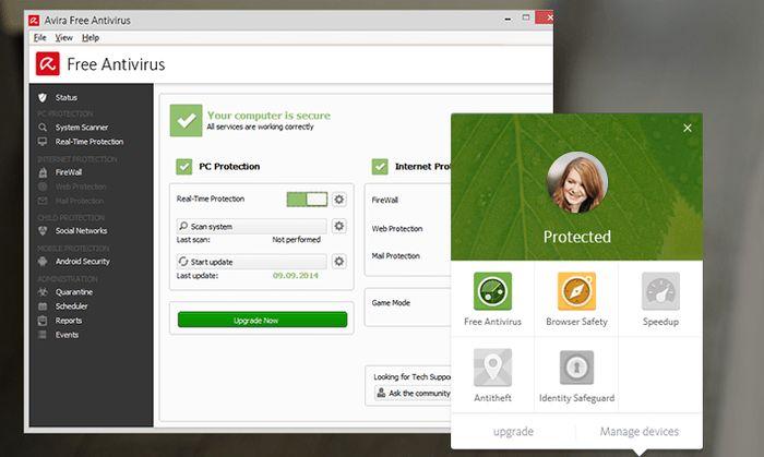 4 лучших бесплатных антивируса для Windows 10