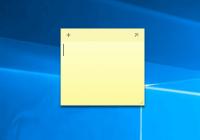 Заметки на рабочий стол Windows 10 - как найти