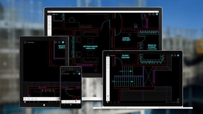 AutoCAD 360 становится универсальным приложением Windows