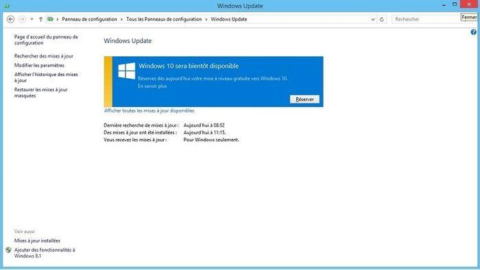 Центр обновления Windows теперь тоже предлагает зарезервировать Windows 10
