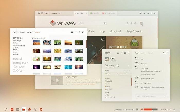 Чего ждать от Windows 9 (Threshold): все слухи обобщенно