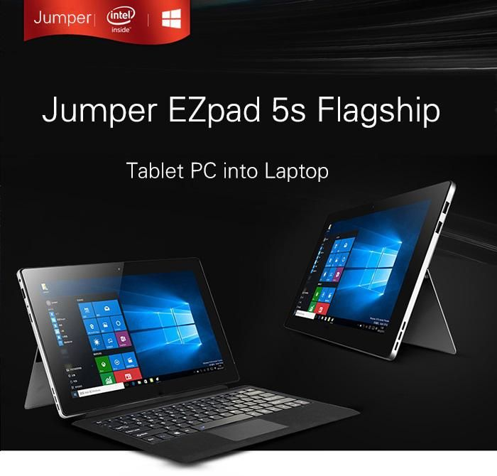 Cube i9, Cube i7 и Jumper EZpad 5s Flagship – клоны Microsoft Surface в китайском исполнении