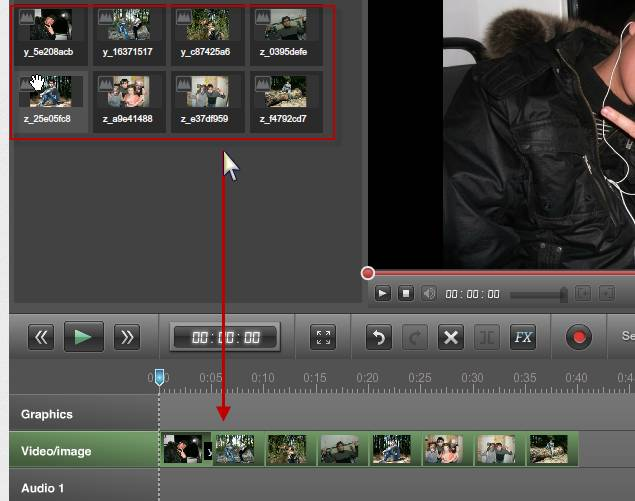 Делаем видеоролик из фотографий и музыки