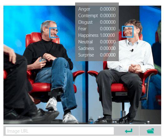 Emotion API – программа от Microsoft, способная распознавать эмоции