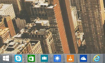 Как приложениям из Магазина Windows запретить появляться на панели задач в Windows 8.1 Update