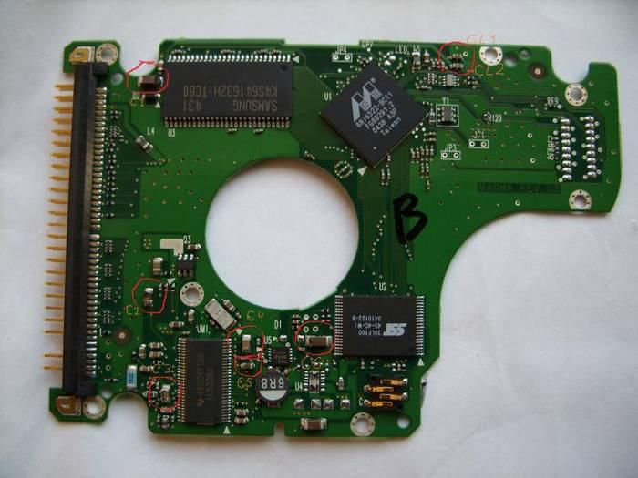 Как восстановить HDD Samsung