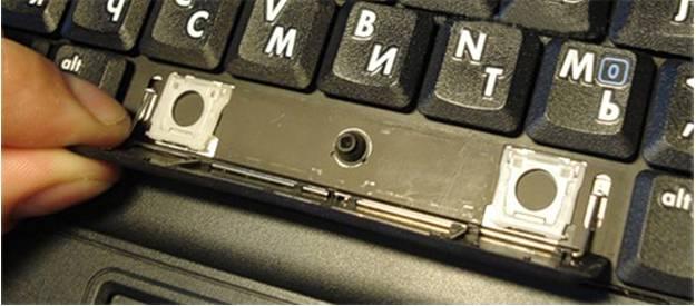 Как вставить кнопку в клавиатуру на ноутбуке