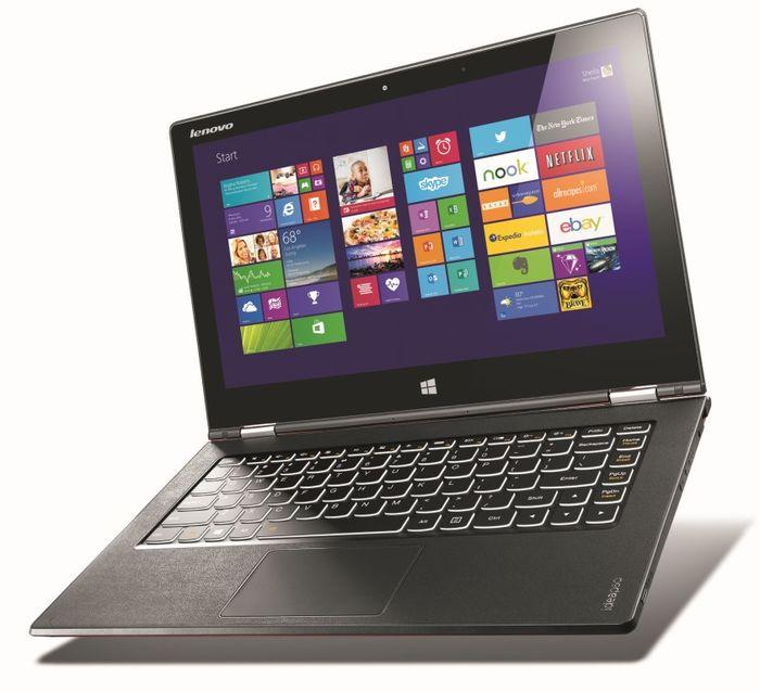 Lenovo Idea Pad Yoga 2 Pro с разрешением 3200×1800 пикселей