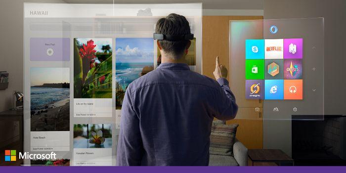 Microsoft патентует 3D-интерфейс