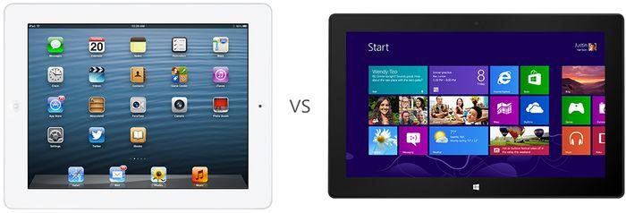 Microsoft снова против iPad в новой рекламе Surface RT