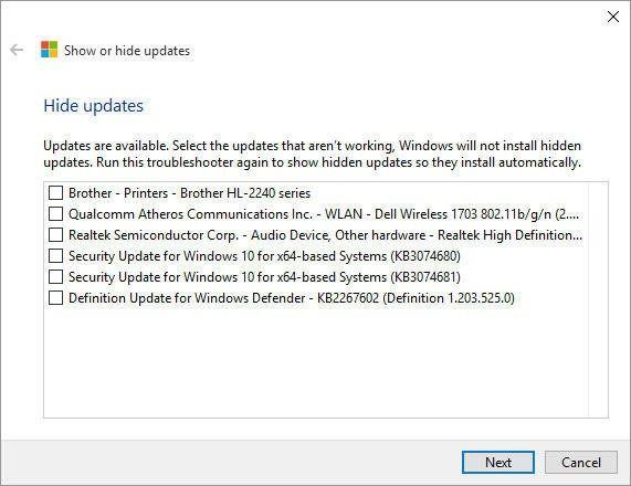 Microsoft выпустила программу для блокировки проблемных обновлений в Windows 10