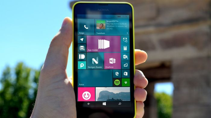 Microsoft выпустила Windows 10 Mobile build 10512