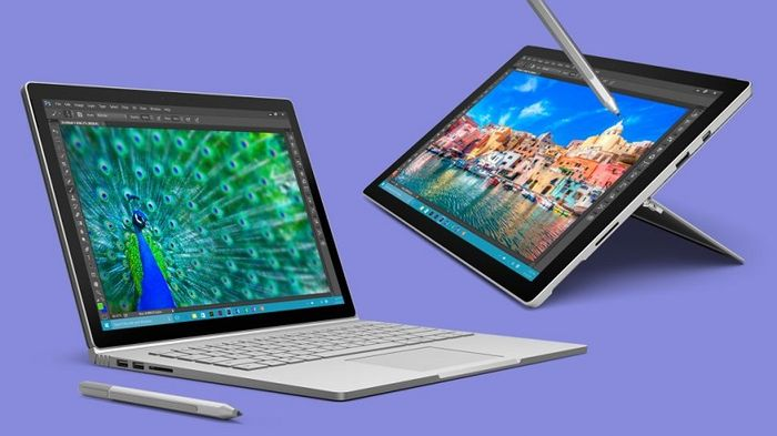 Модели процессоров, используемых в Surface Pro 4 и Surface Book