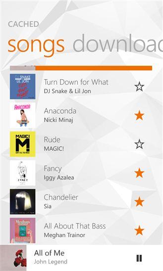 Неофициальное приложение Google Play Music для Windows Phone 8.1 и Windows 8.1