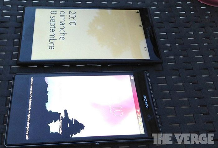 Nokia Lumia 1520 попал под объектив камеры