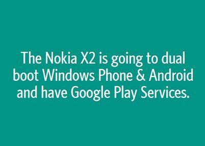 Nokia X2 будет работать с Android и Windows Phone одновременно