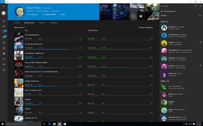 Новая версия приложения Xbox для Windows 10 и анонс Xbox Beta