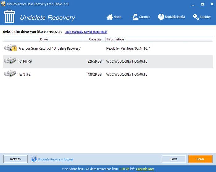 Обзор MiniTool Power Data Recovery