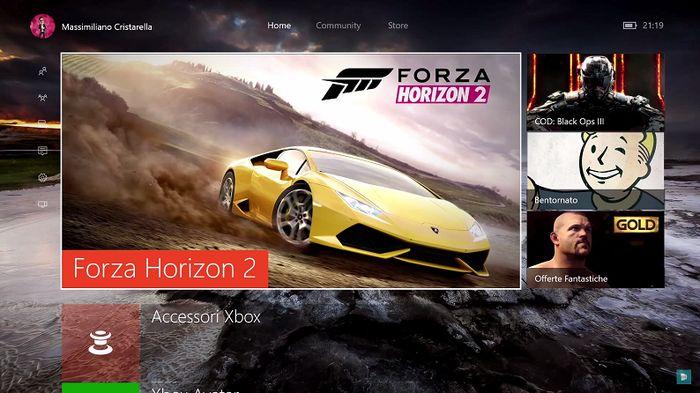 Официальный релиз новой приборной панели для Xbox One