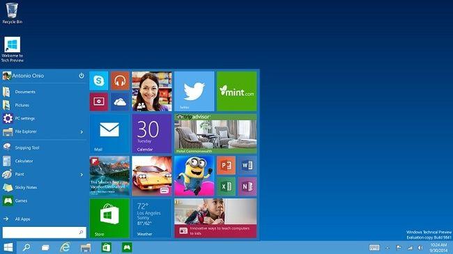 Ошибка замедляет выпуск новой сборки Windows 10 Technical Preview