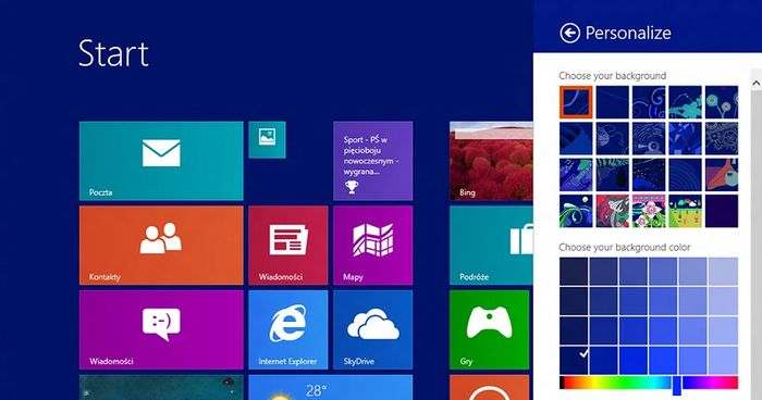 Ранняя версия Windows Blue появилась в Интернете