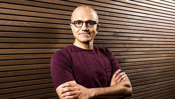 Сколько уже получил Сатья Наделла на посту CEO Microsoft