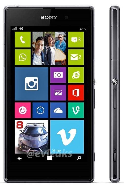 Sony подтверждает возможность выпуска устройства с Windows Phone