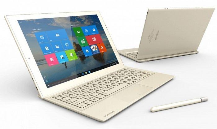 Toshiba dynaPad: 12″ планшет с Windows 10 и толщиной всего 6.9 мм