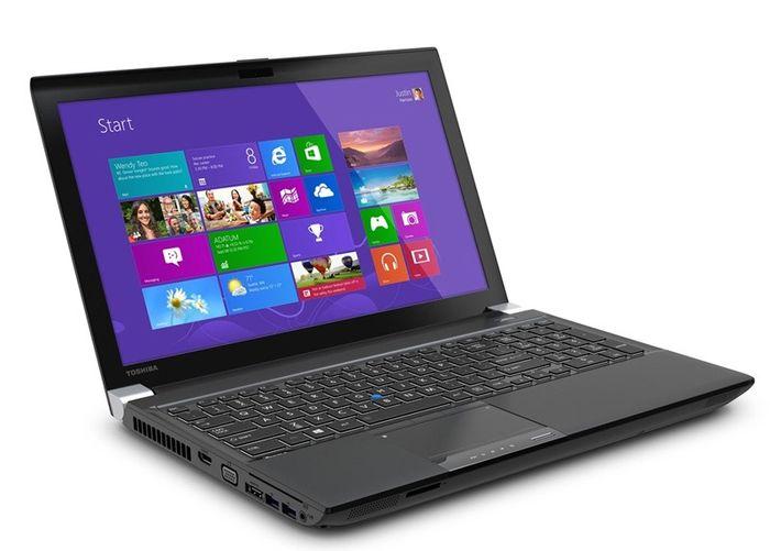 Toshiba показала первые ноутбуки с разрешением 4K