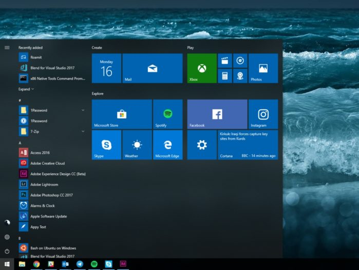 Установка обновления для Windows 10 Spring Creators: 2 метода