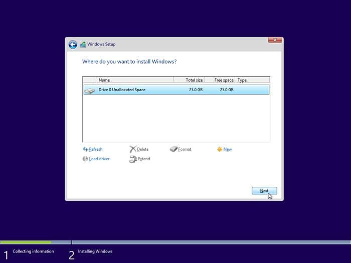 Установка windows 10 с флешки второй системой