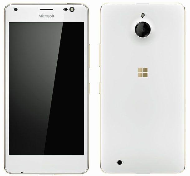 В сеть попали изображения смартфона Microsoft Lumia 850