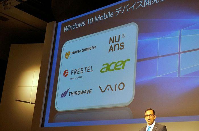 Vaio представит устройство с Windows 10 Mobile 4 февраля