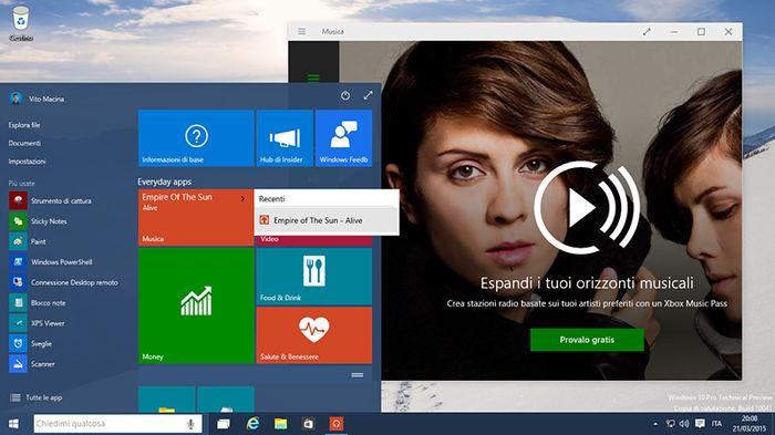 Windows 10 Build 10041: «Списки переходов» возвращаются в меню «Пуск»