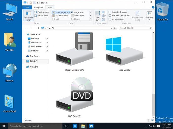 Windows 10 build 10125: Windows Hello, новые иконки и многое другое