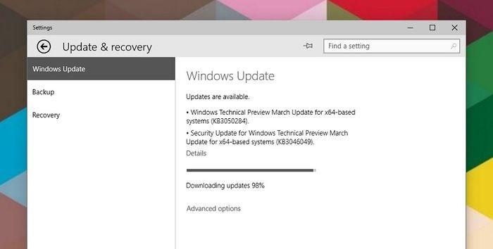 Windows 10 TP 10041: три обновления, запуск в рамках «Slow Ring» и официальные ISO
