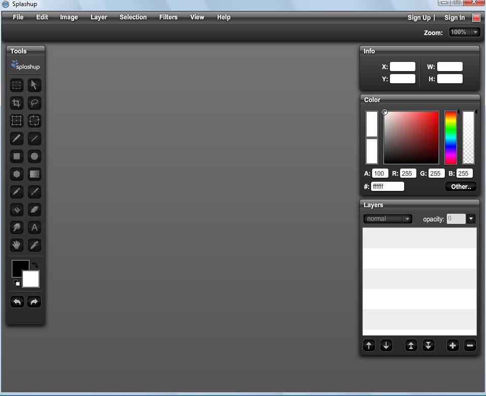 Бесплатный аналог Фотошопа, Photoshop