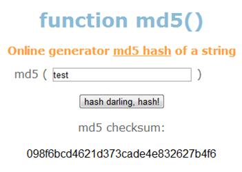 Что такое MD5, как получить хеш MD5