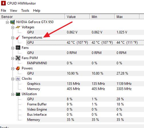 GPU: что это в компьютере, температура GPU