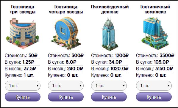 Игра Invest Hotels с выводом денег