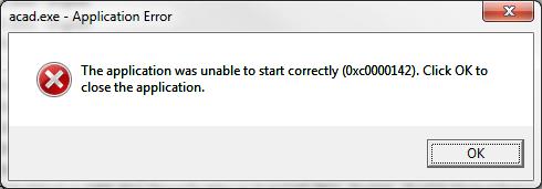 Исправить 0xc0000142 ошибку приложения при запуске игры