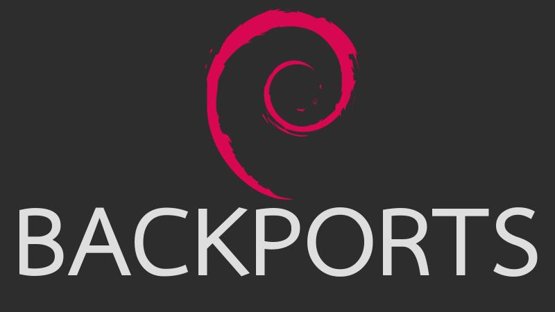 Как подключить Backports в Debian?