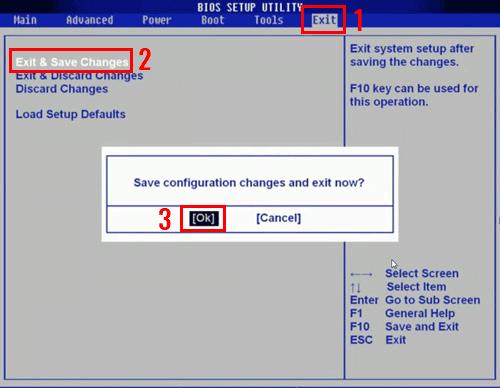 Как выставить загрузку с диска?