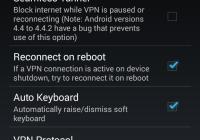 Приложение OpenVPN connect для Android